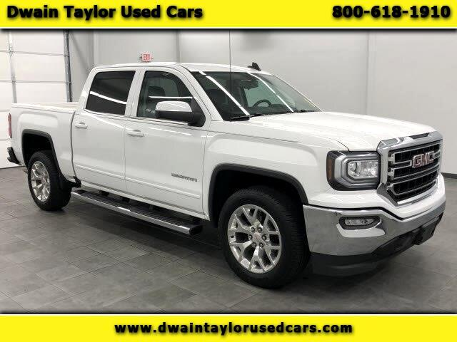 2017 GMC Sierra 1500 SLE Crew Cab Long Box 2WD