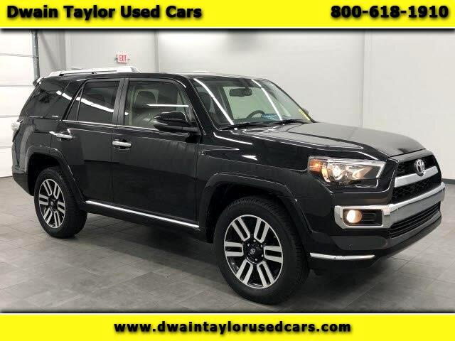 2017 Toyota 4Runner Limited 4WD V6