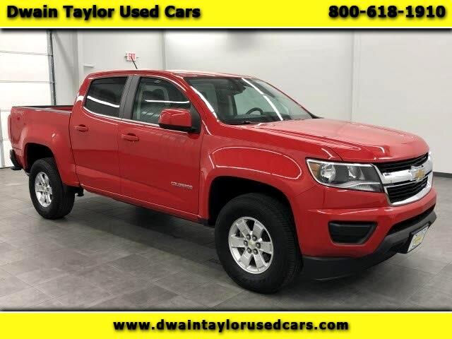 Chevrolet Colorado Work Truck Crew Cab 4WD Long Box 2017