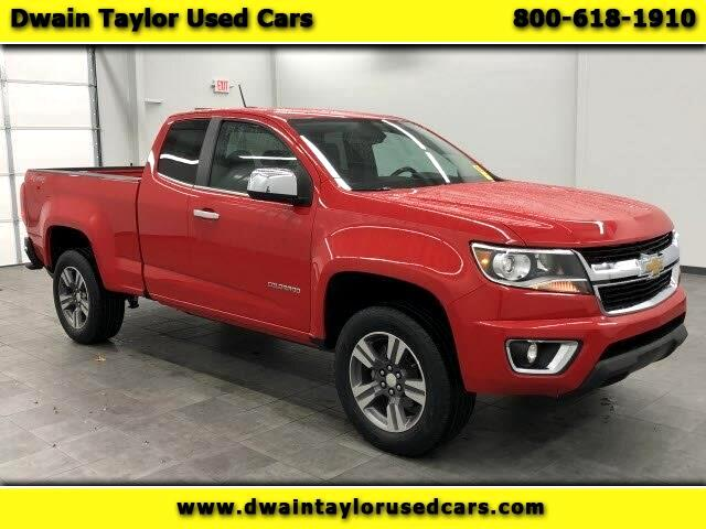 Chevrolet Colorado LT Ext. Cab 4WD 2015