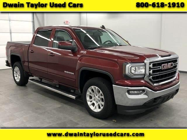 GMC Sierra 1500 SLE Crew Cab Long Box 4WD 2016