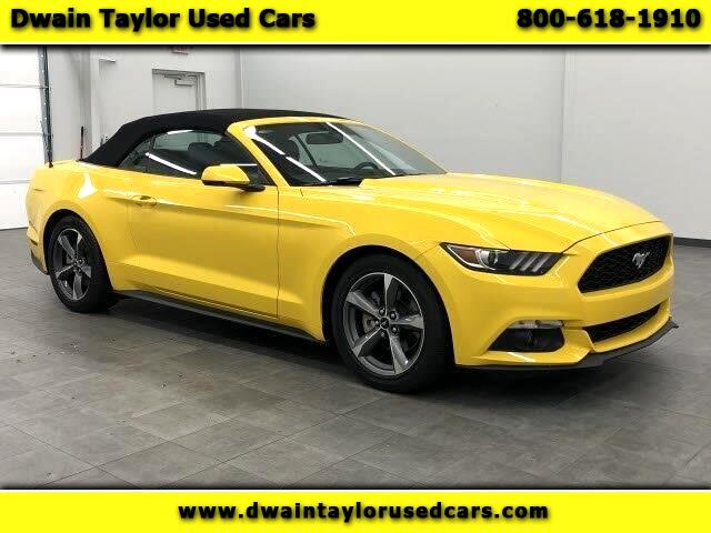Ford Mustang EcoBoost Premium Convertible 2015