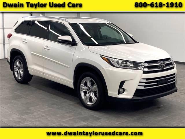 Toyota Highlander Limited AWD V6 2018