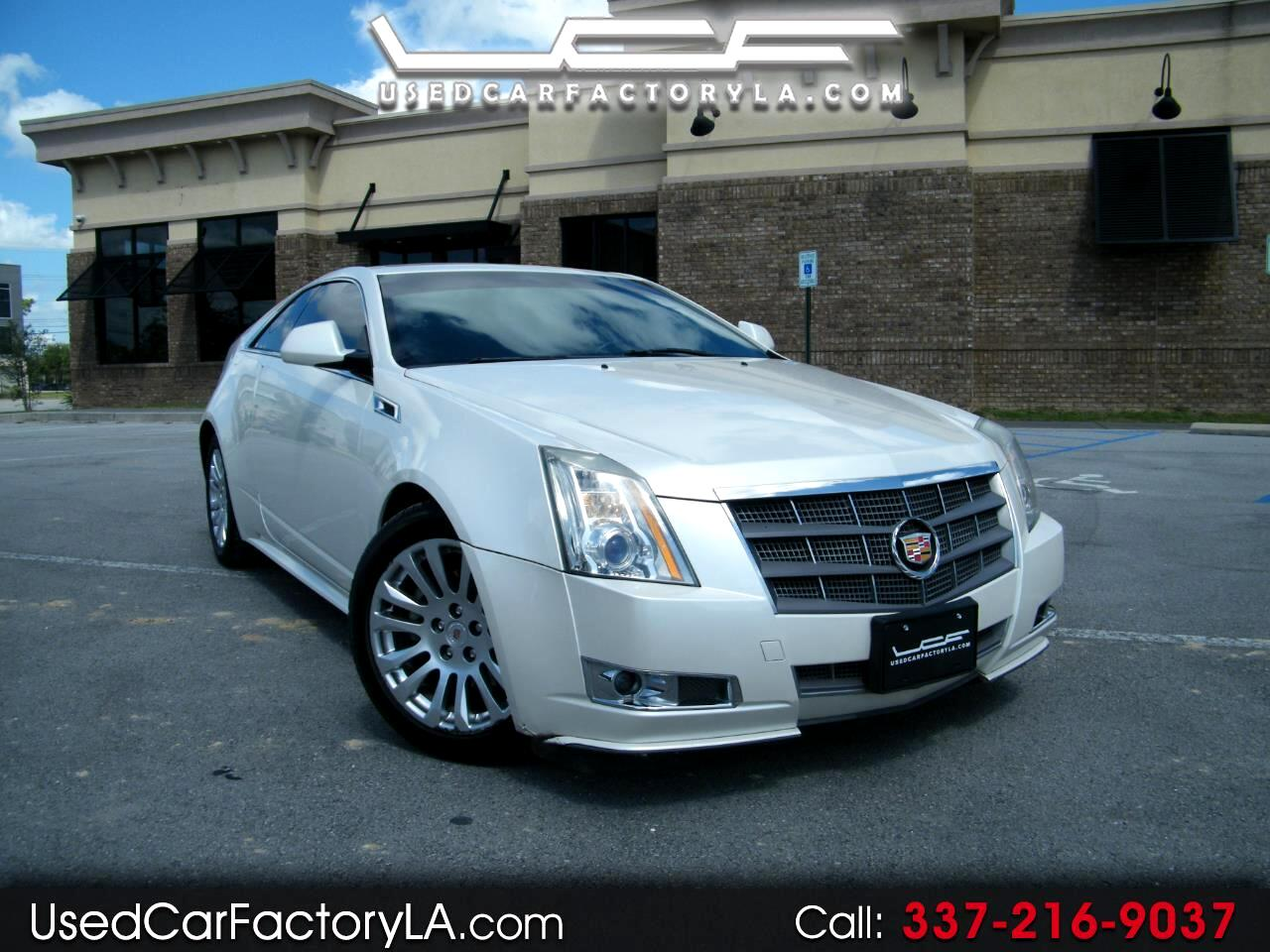 Cadillac CTS Premium Coupe with Navigation 2011