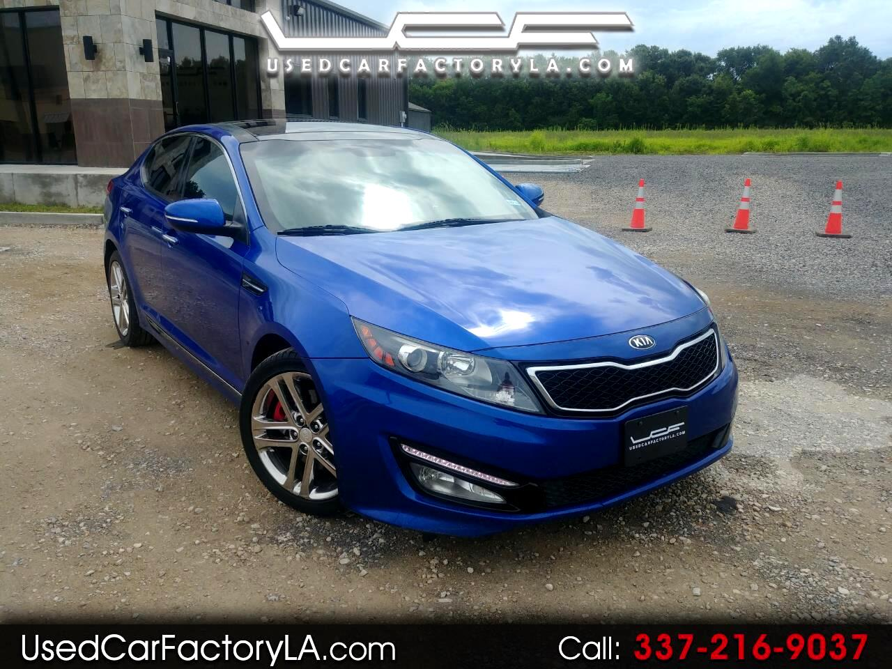 Kia Optima SX 2013