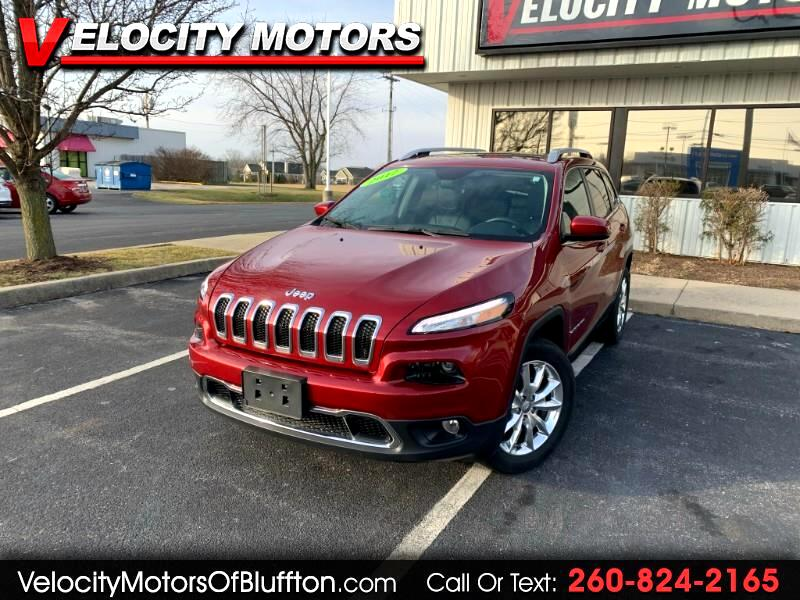Jeep Cherokee Limited 4WD 2017