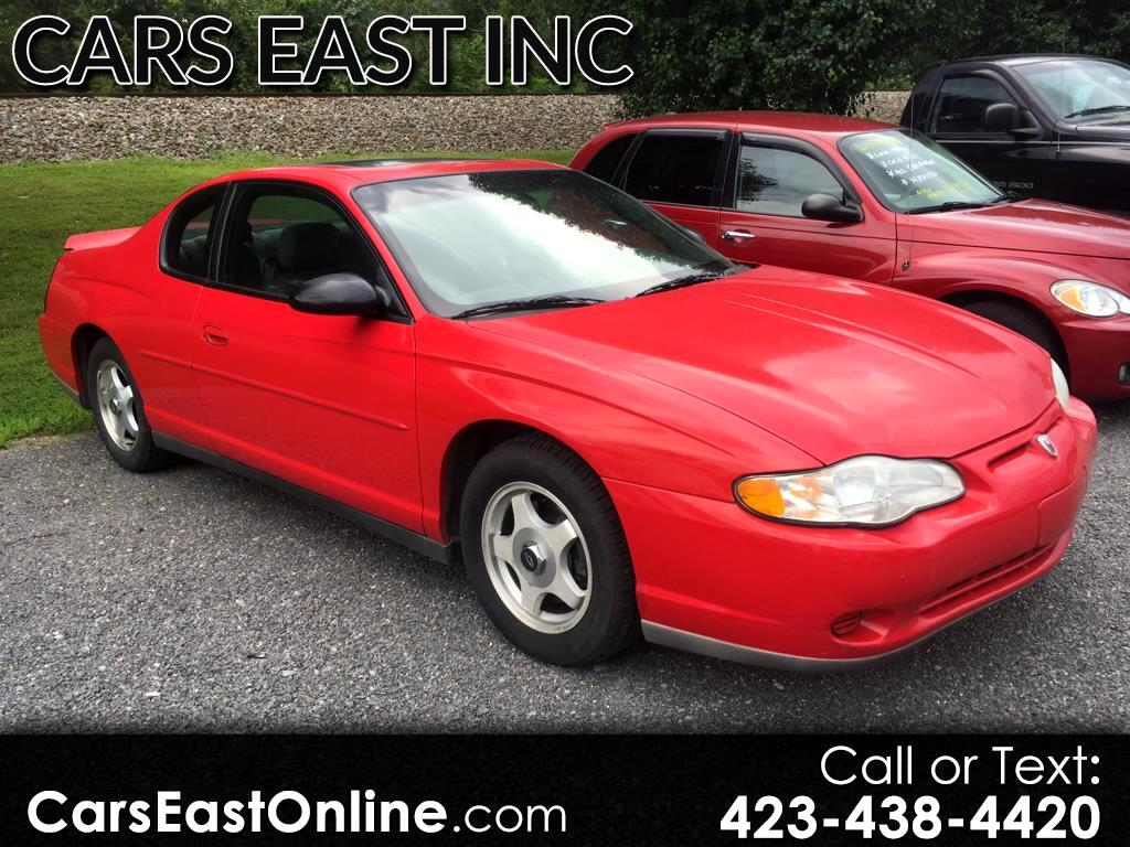 2002 Chevrolet Monte Carlo 2dr Cpe LS