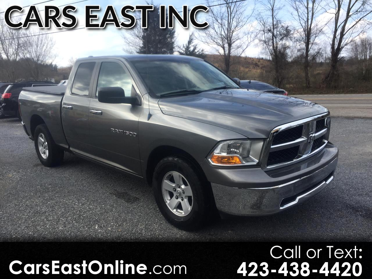 2011 Dodge 1500 2WD Quad Cab 140.5