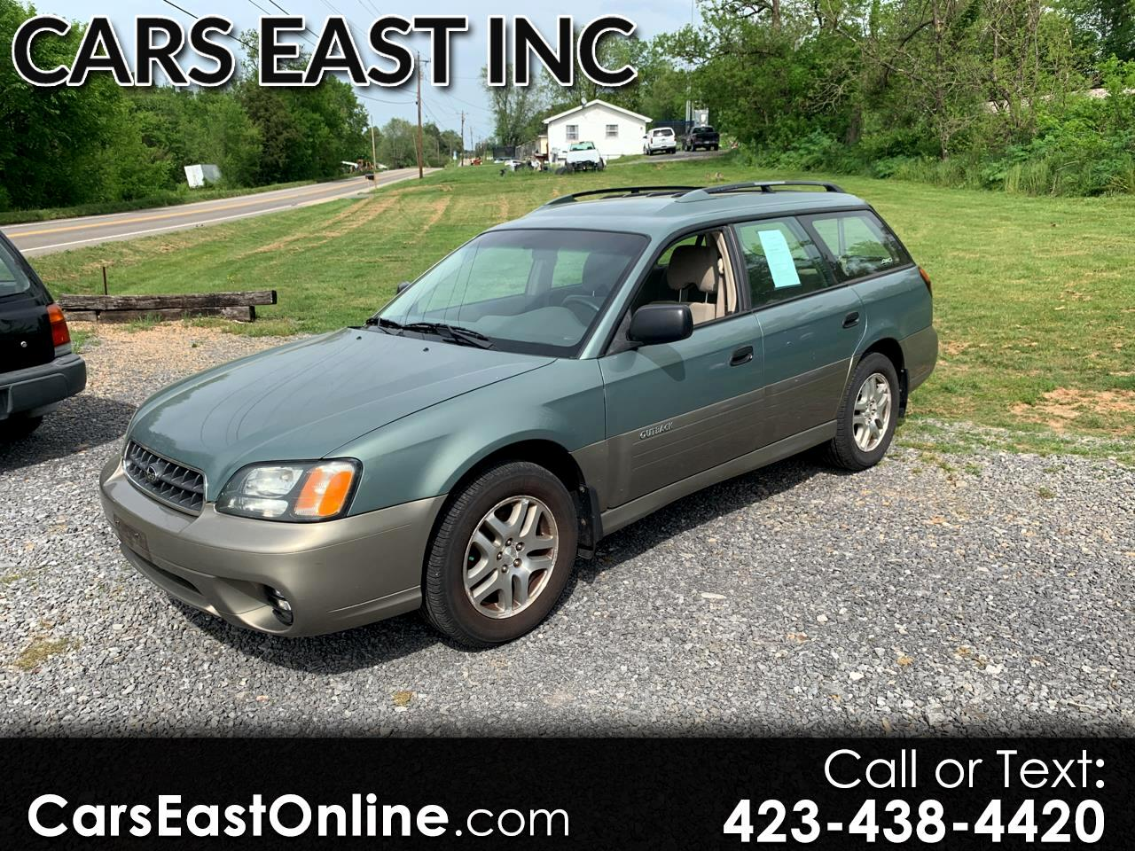 2004 Subaru Legacy Wagon (Natl) 5dr Outback Manual