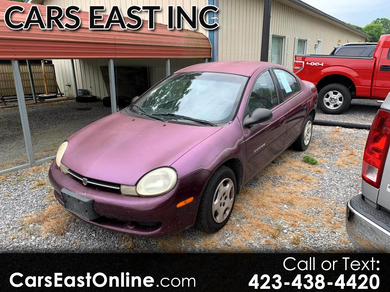 2000 Dodge Neon 4dr Sdn Highline