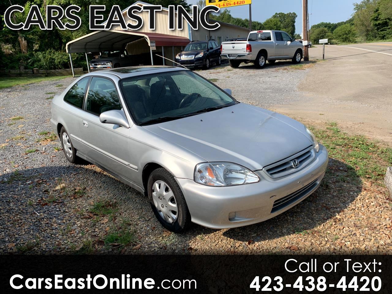 1999 Honda Civic 2dr Cpe EX Auto