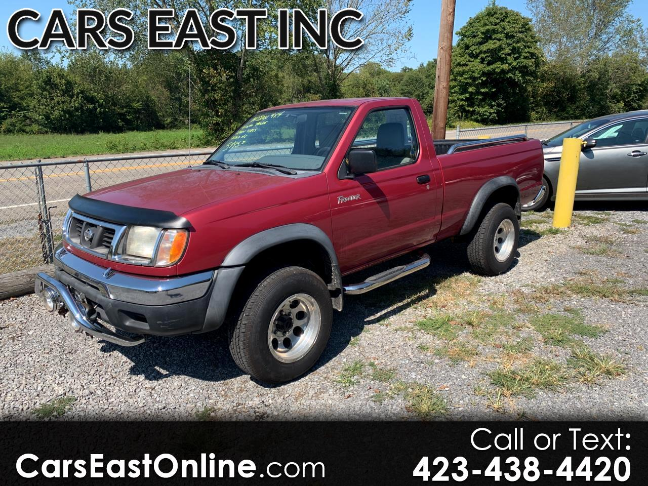 1998 Nissan Frontier 4WD XE Reg Cab