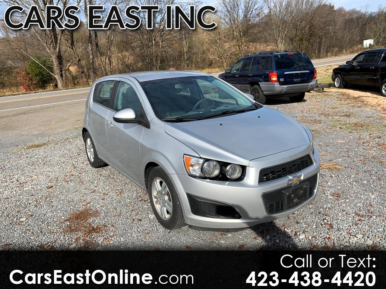 Chevrolet Sonic 5dr HB LT 1LT 2012