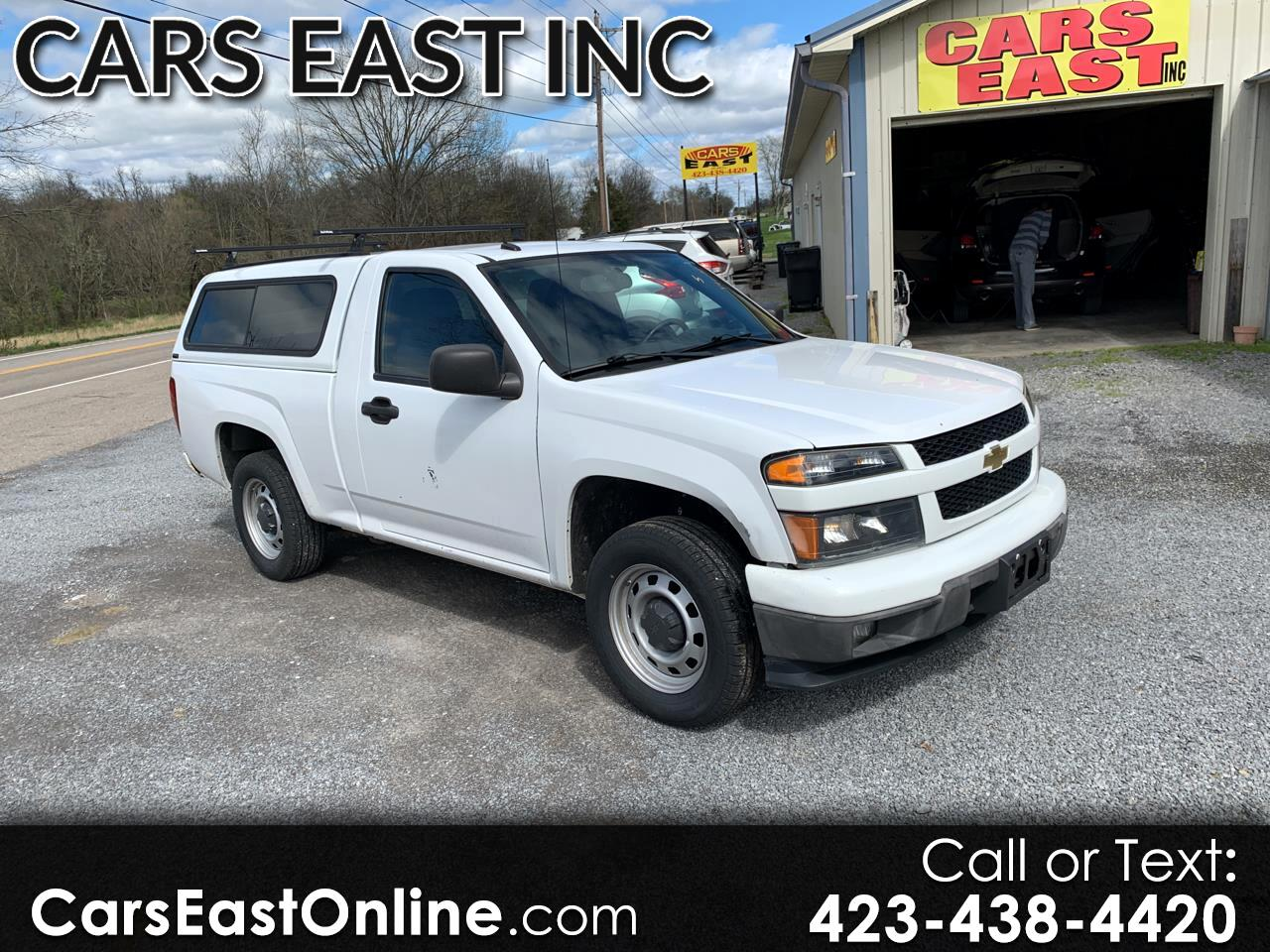 Chevrolet Colorado 2WD Reg Cab Work Truck 2012