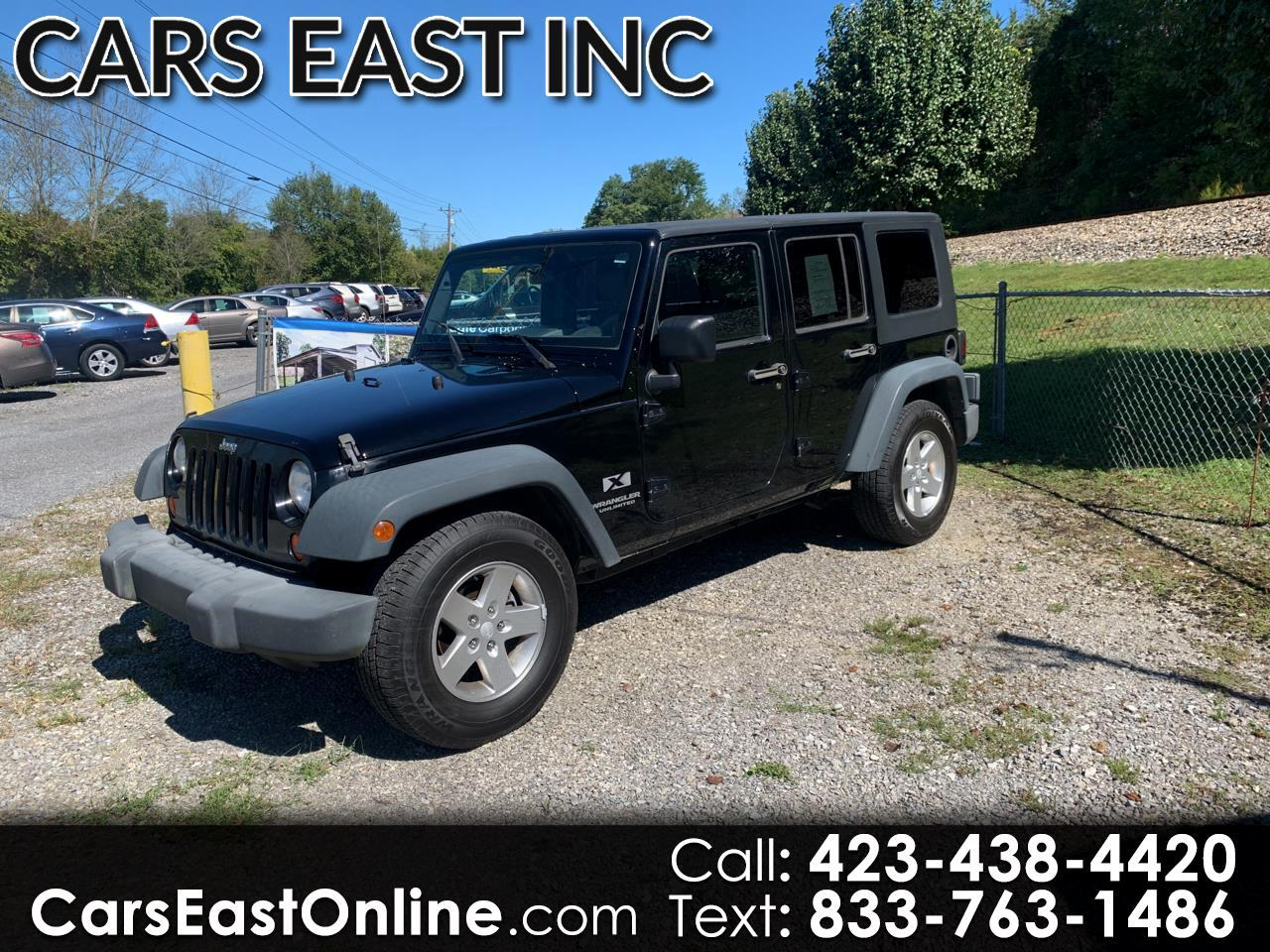Jeep Wrangler RWD 4dr Unlimited X 2008