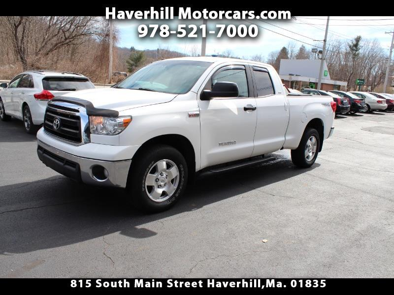 2013 Toyota Tundra 4WD Truck Double Cab 5.7L FFV V8 6-Spd AT (Natl)