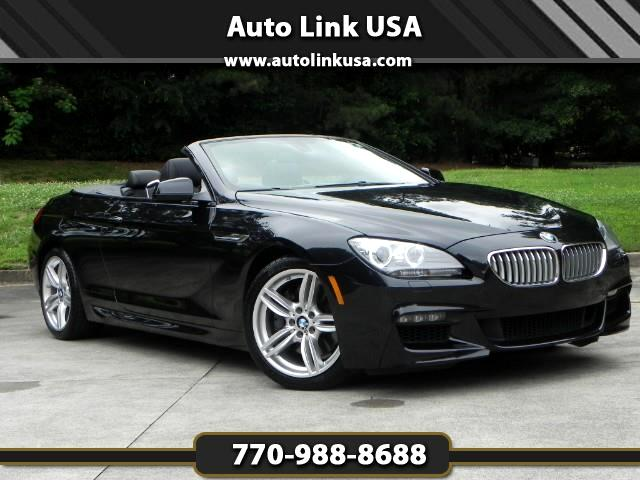 2015 BMW 6-Series 650i M Sport Covertible
