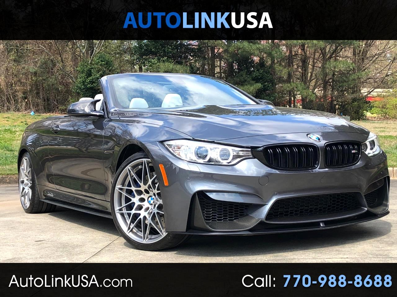 2017 BMW M4 Competition Convertible
