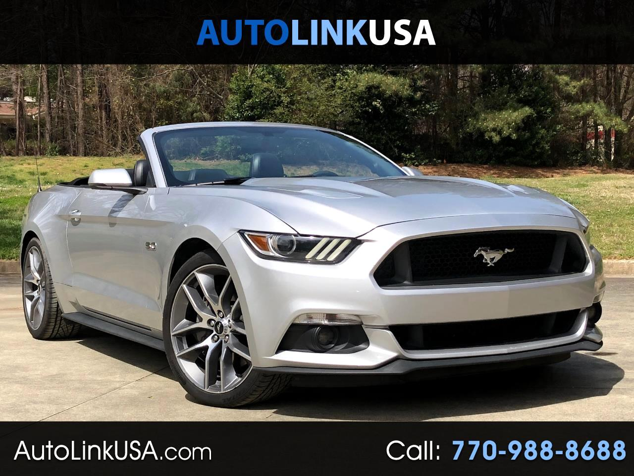 2016 Ford Mustang GT Prem. Convertible