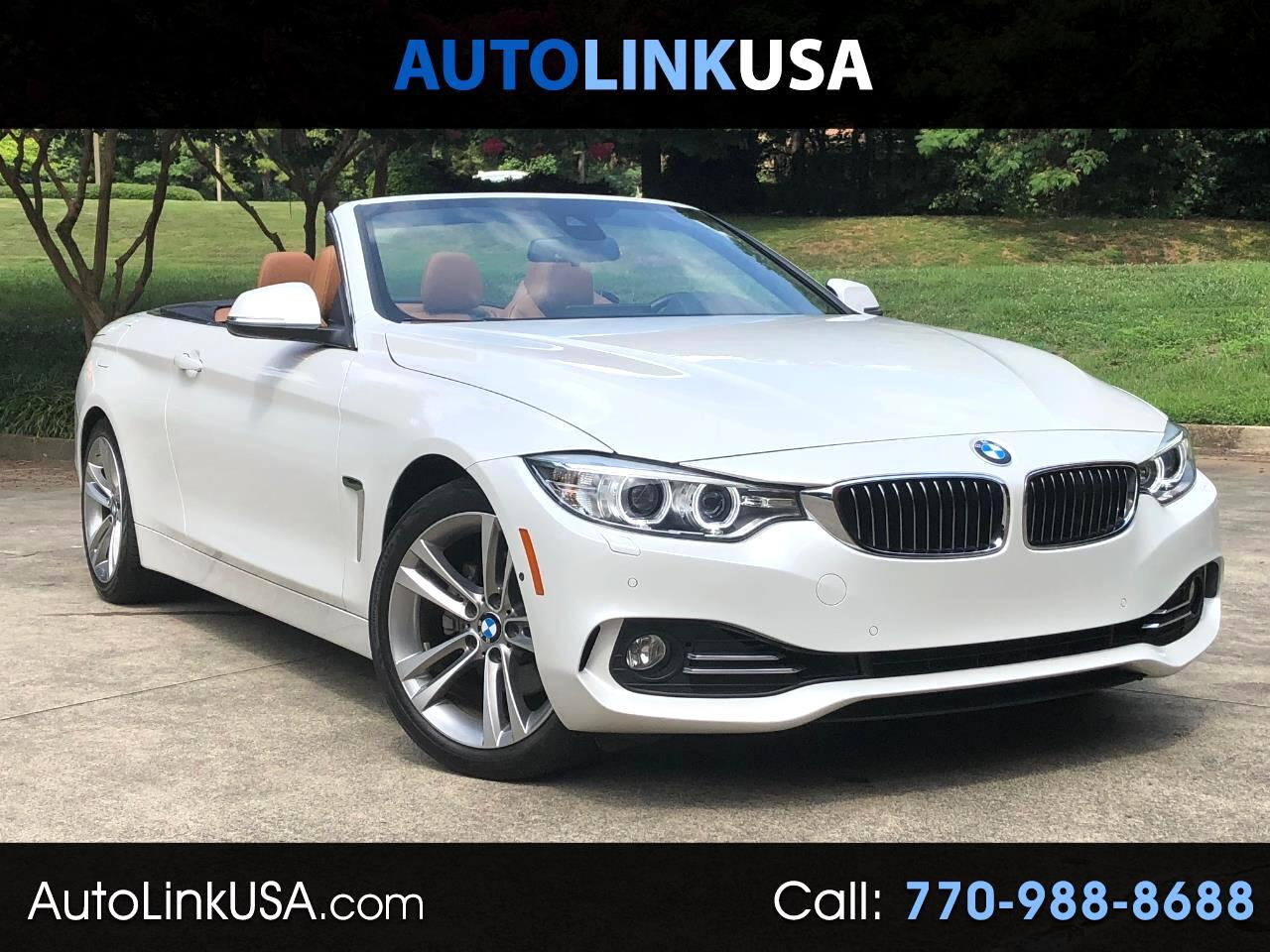 2017 BMW 4-Series 430I Luxury Convertible