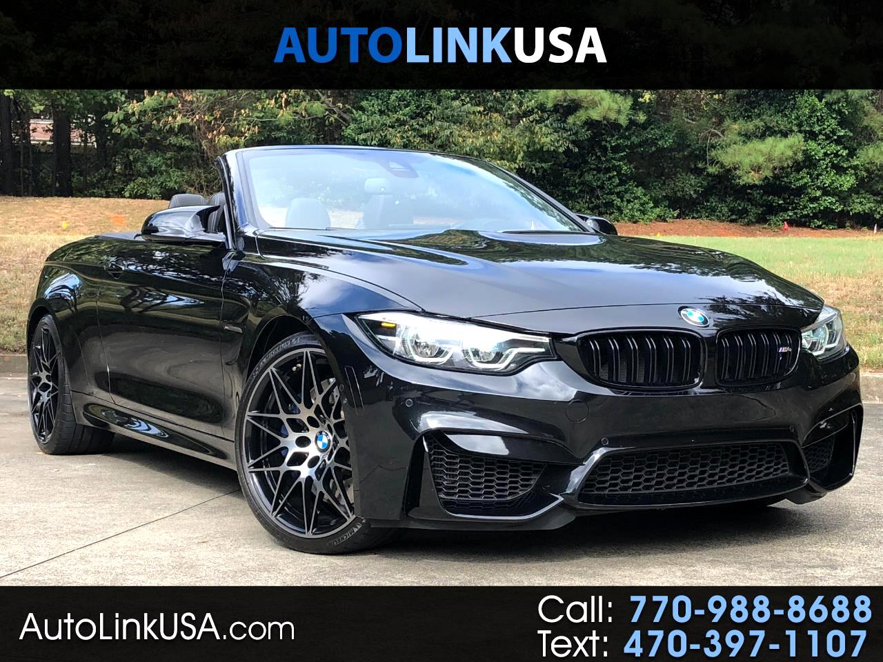 2018 BMW M4 Competition/Executive Convertible