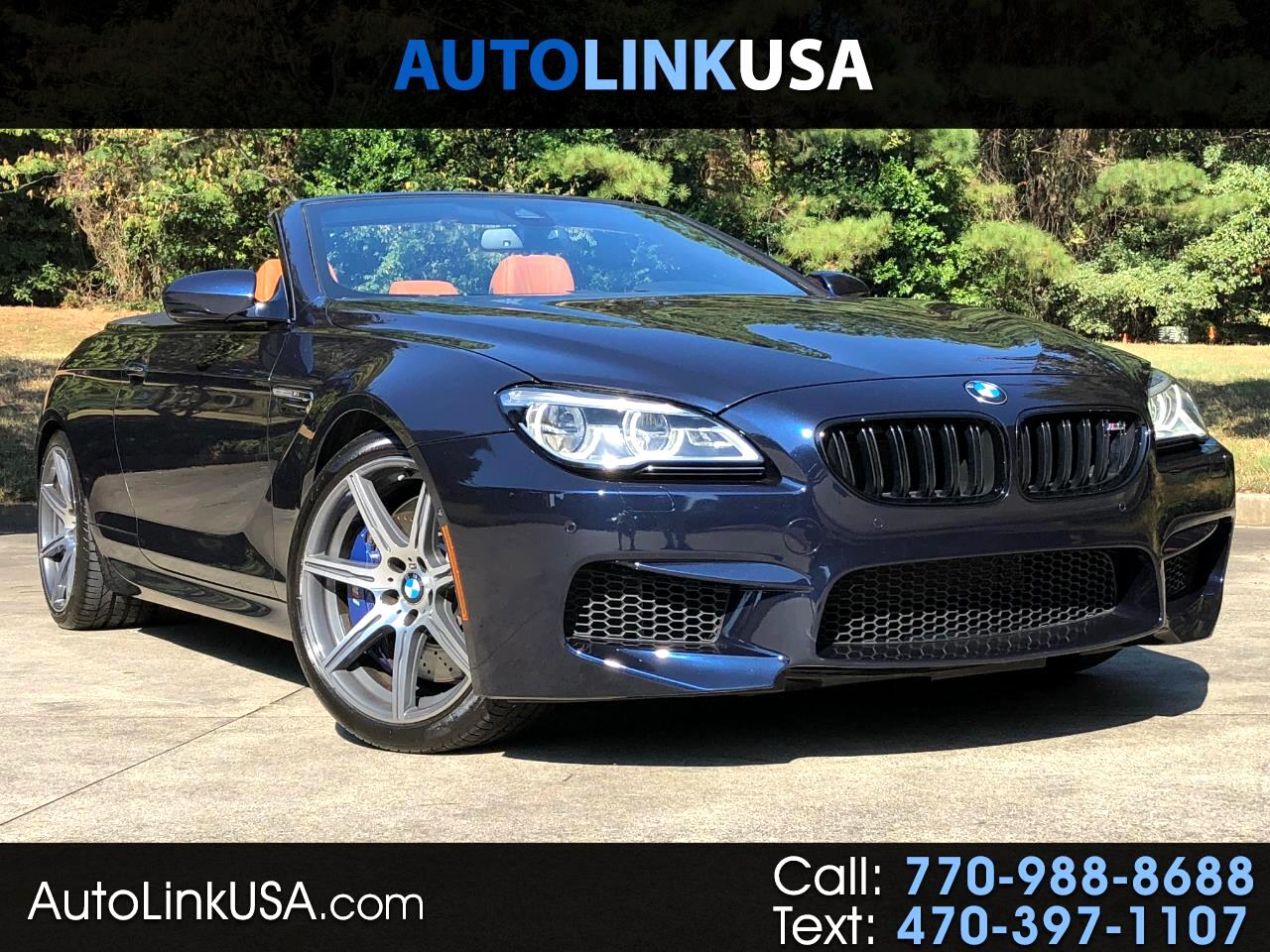 2016 BMW M6 Competition/Execuitive Convertible