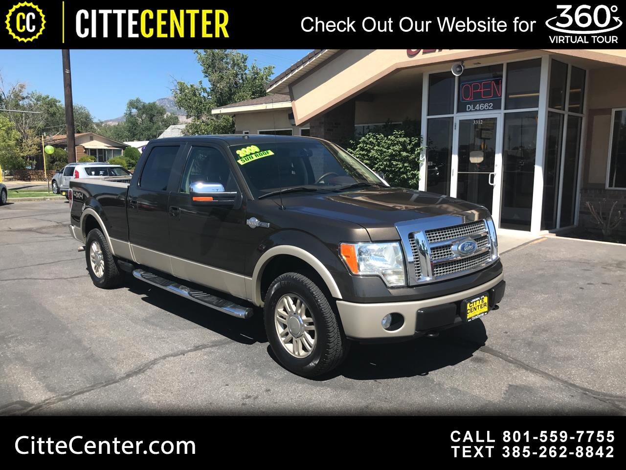 "Ford F-150 4WD SuperCrew 145"" King Ranch 2009"