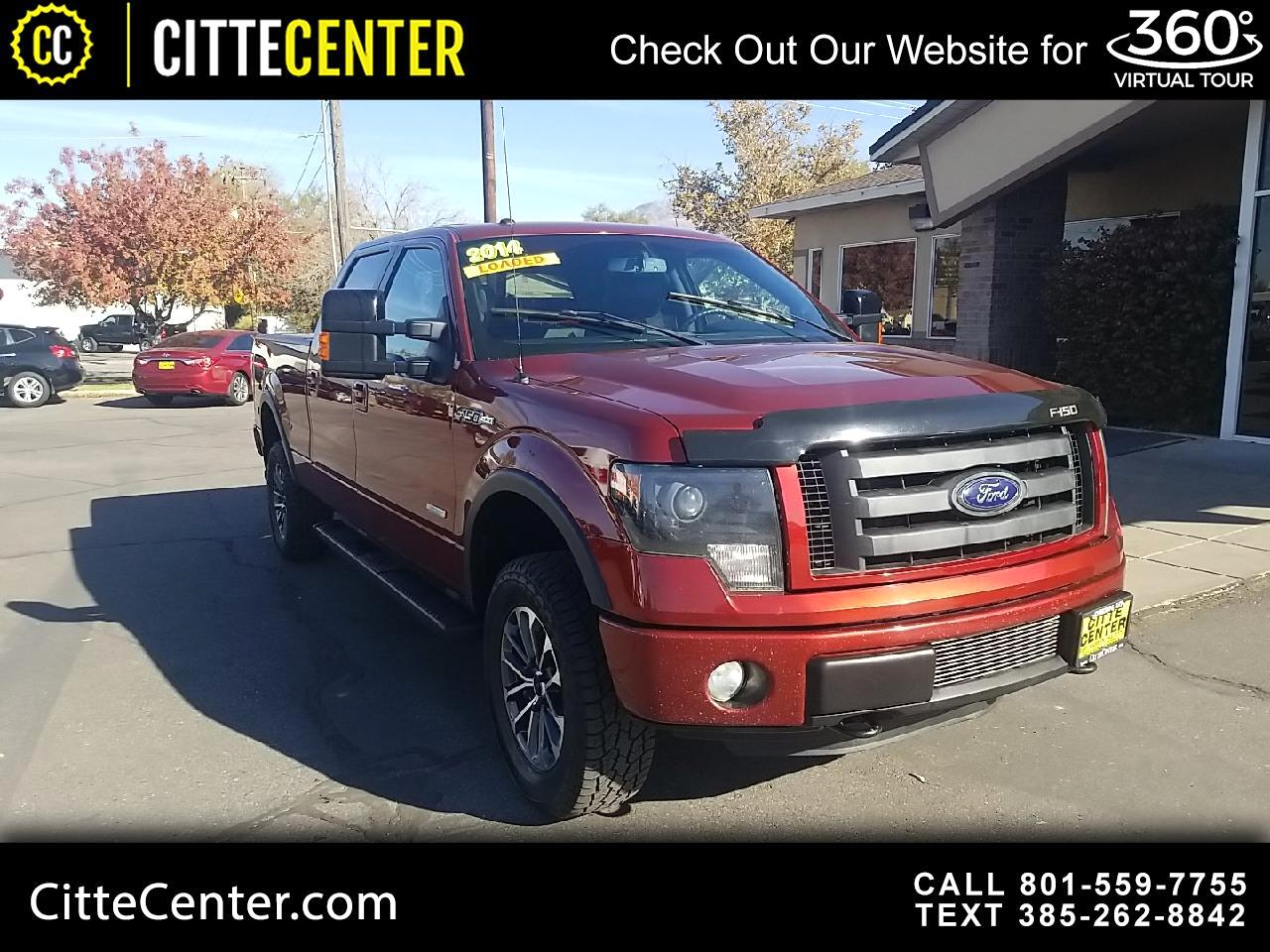 """Ford F-150 4WD SuperCrew 145"""" FX4 2014"""