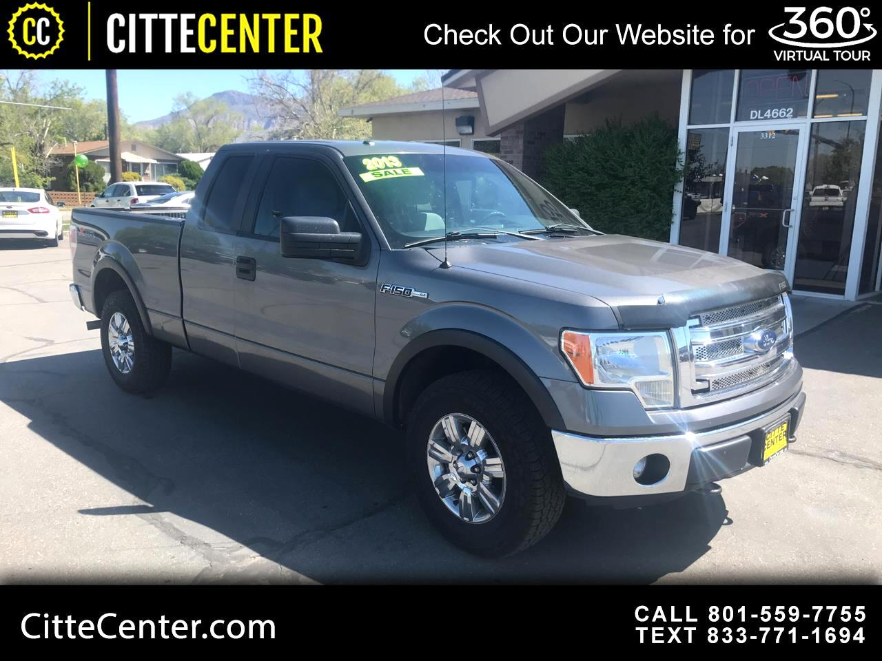 "Ford F-150 4WD SuperCab 163"" XLT 2013"