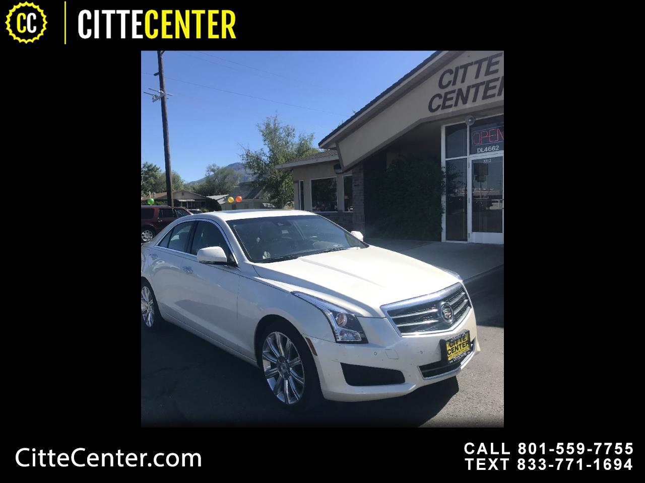 Cadillac ATS 4dr Sdn 3.6L Luxury AWD 2013