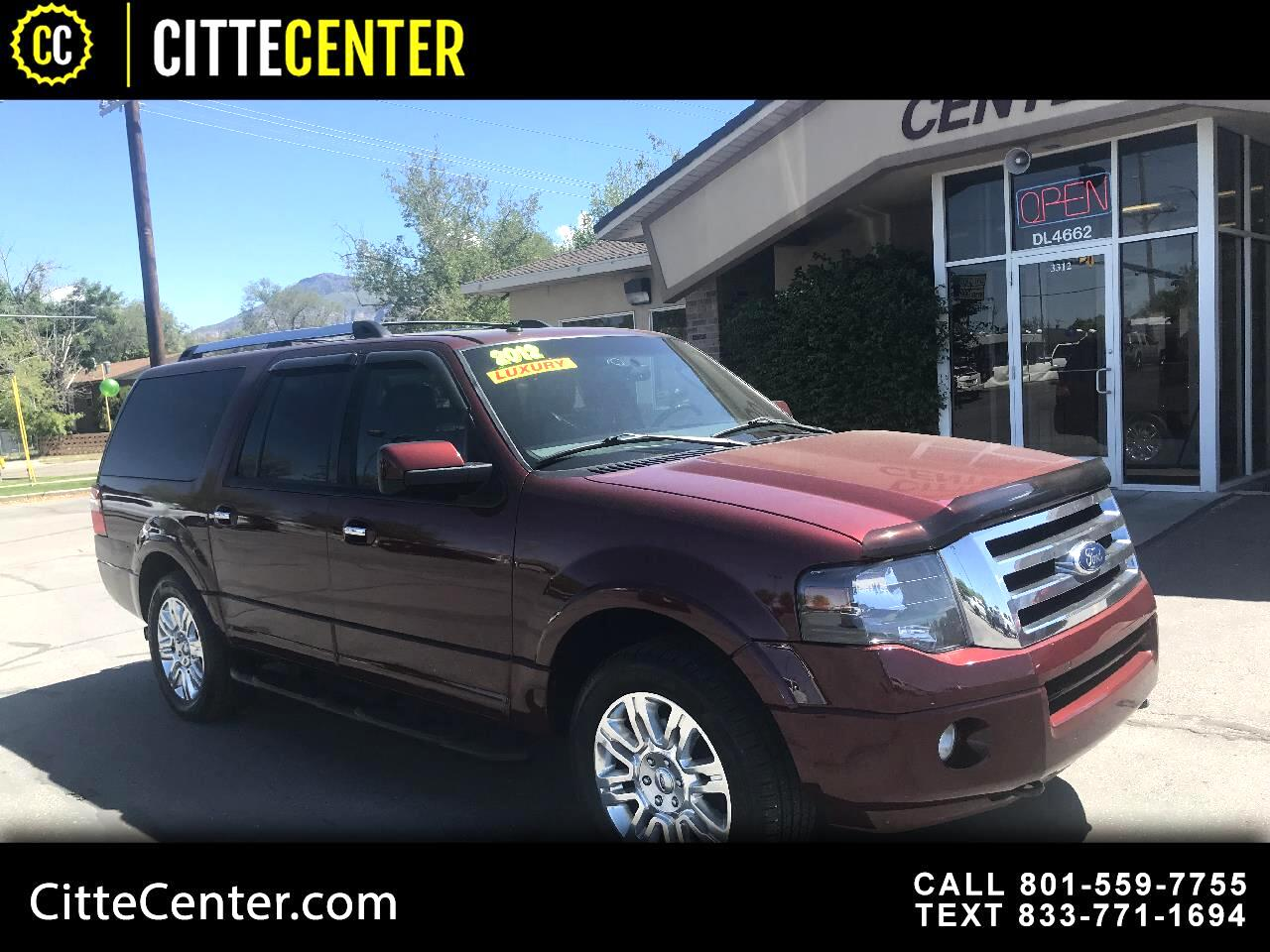 Ford Expedition EL 4WD 4dr Limited 2012