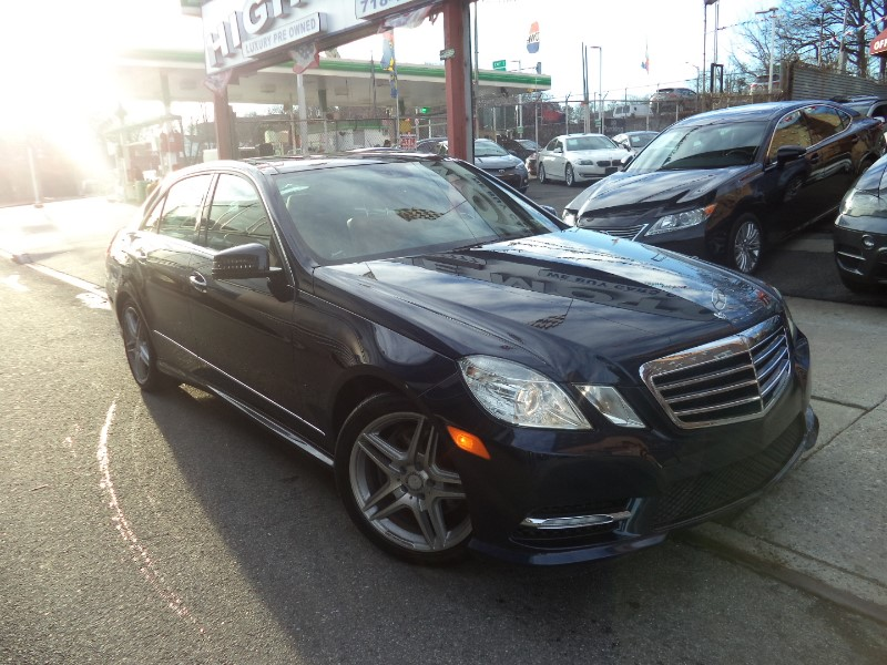 2013 Mercedes-Benz E-Class E350 4MATIC SPORT PACKAGE