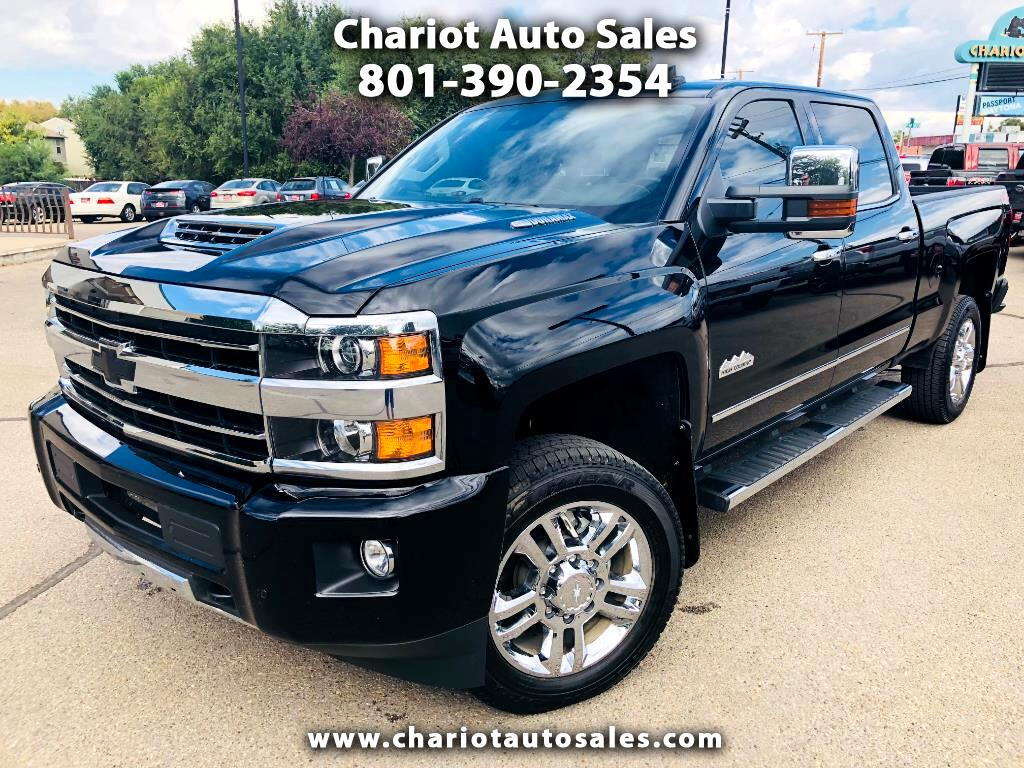 2018 Chevrolet Silverado 2500HD HIGH COUNTRY 4WD CREW CAB