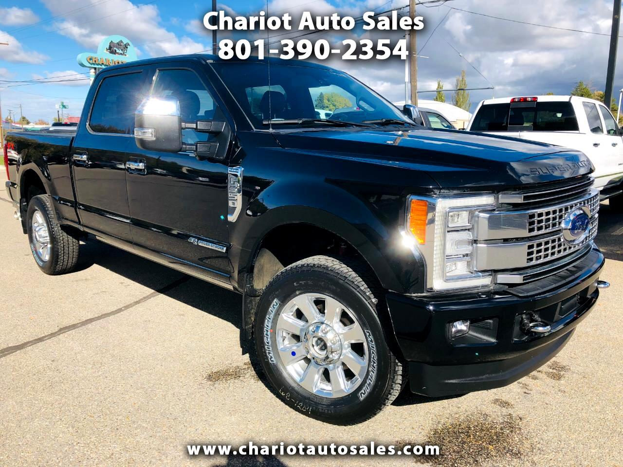 2017 Ford F-350 SD PLATINUM SUPER CREW 4WD