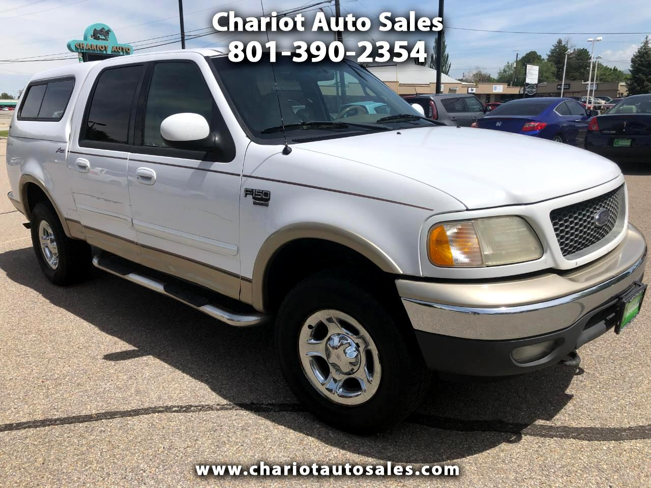 Ford F-150 Lariat SuperCrew 4WD 2001