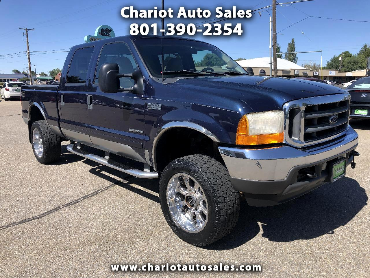 Ford F-350 SD Lariat Crew Cab Short Bed 4WD 2001