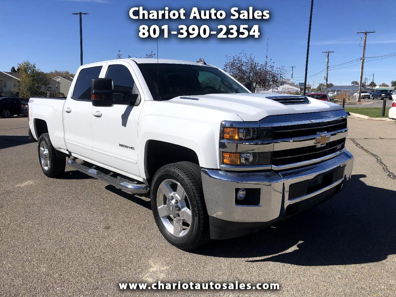 Chevrolet Silverado 2500HD LT Crew Cab Short Box 4WD 2019