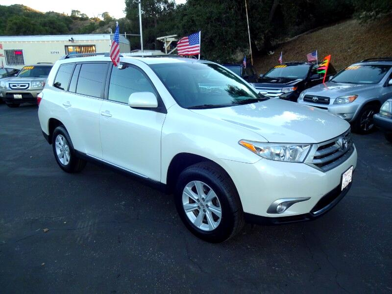 2012 Toyota Highlander Sport 2WD with 3rd-Row Seat