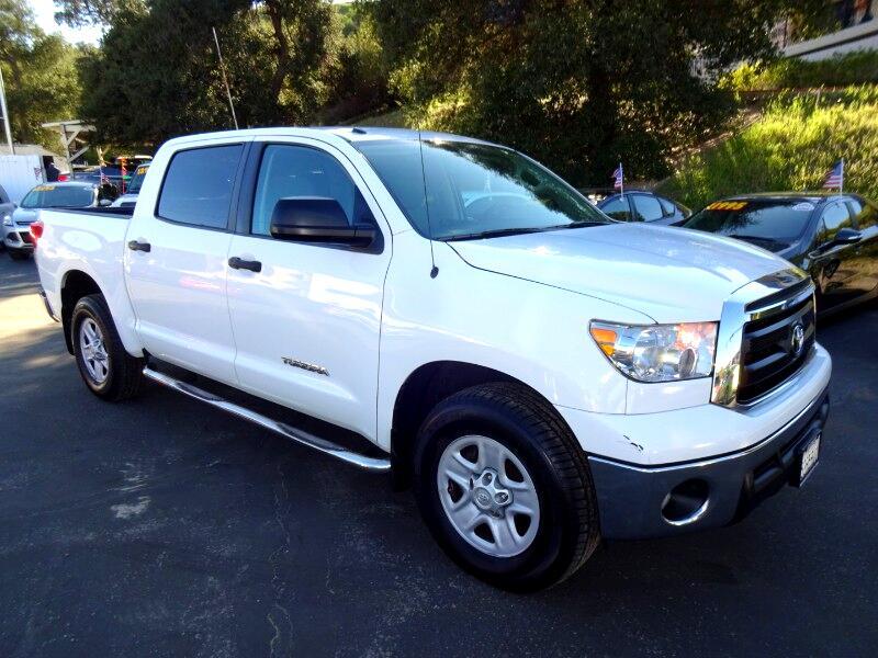 2012 Toyota Tundra Tundra-Grade CrewMax 4.6L 2WD