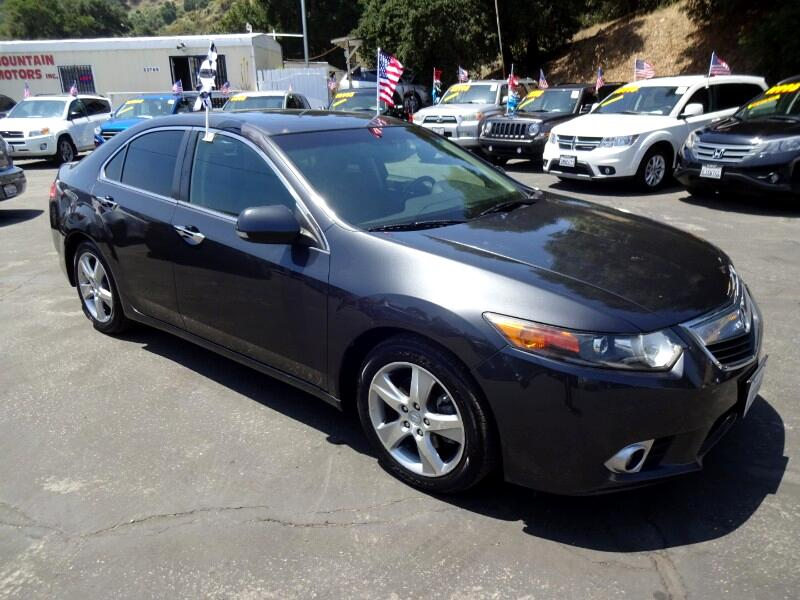Acura TSX 5-Speed AT with Tech Package 2011
