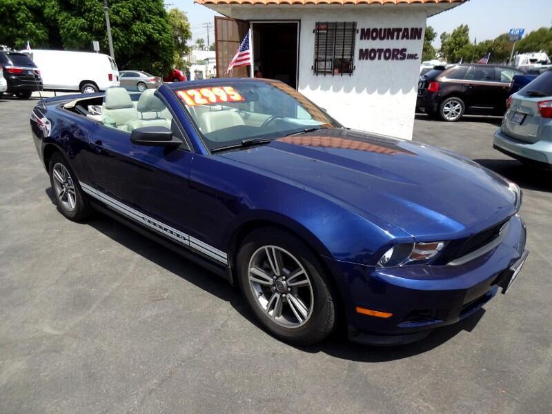 Ford Mustang 2dr Conv V6 Premium 2011