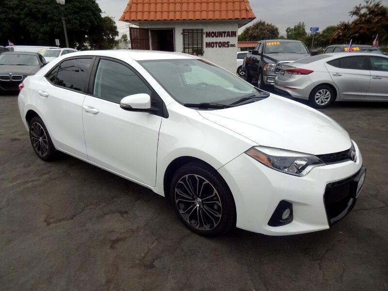 Toyota Corolla S Plus CVT 2016
