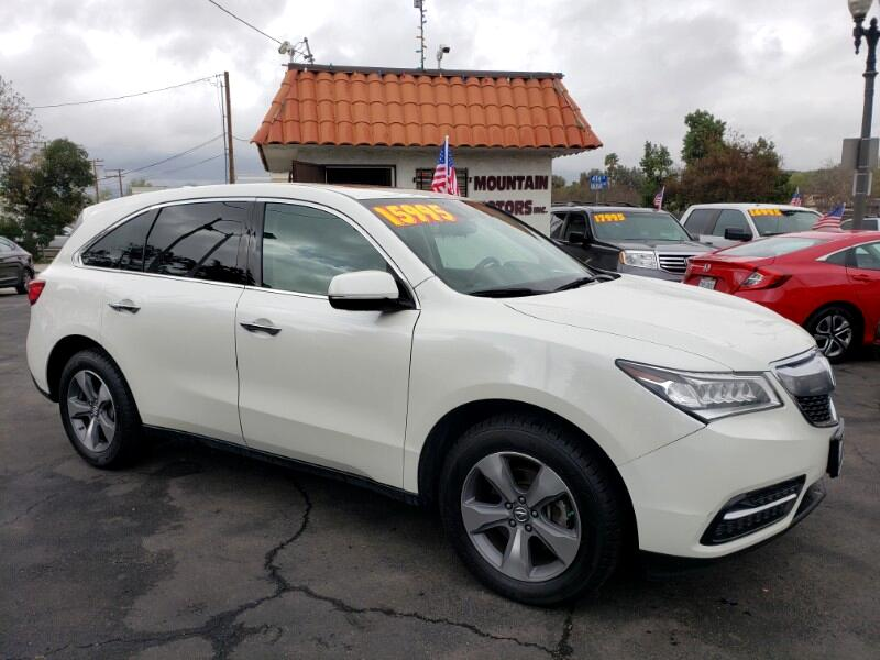 Acura MDX 6-Spd AT 2014