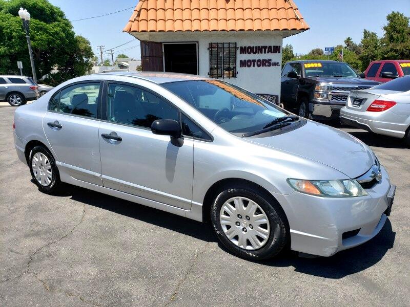 Honda Civic DX-VP Sedan 5-Speed AT 2010