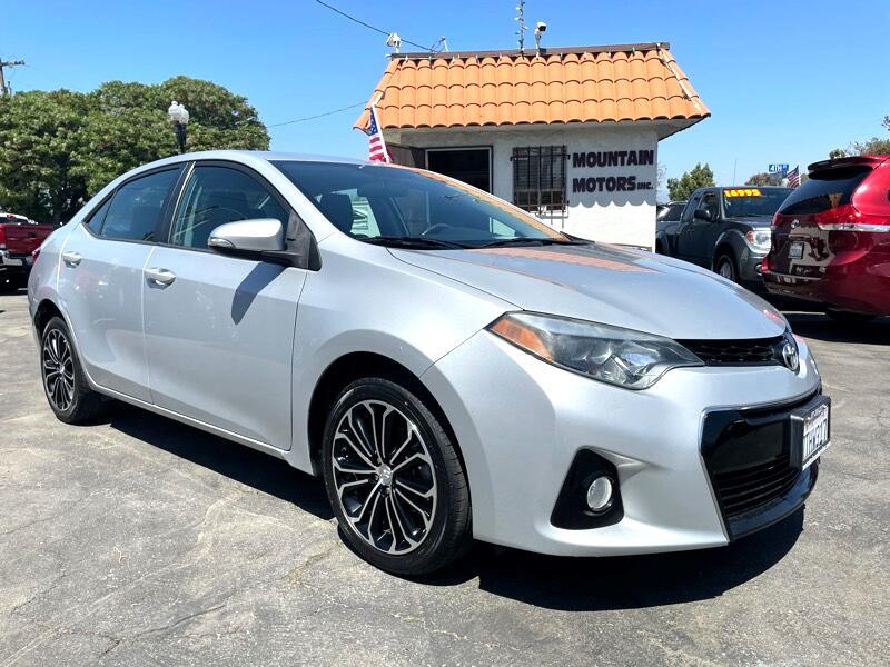 Toyota Corolla S Premium CVT 2016