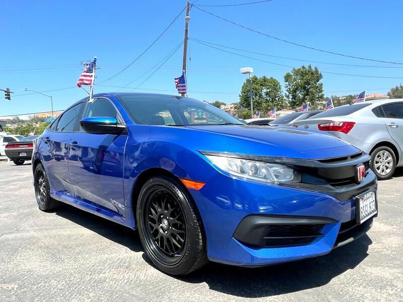 Honda Civic LX Sedan CVT 2016