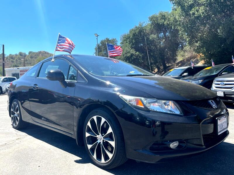 Honda Civic Si Coupe 6-Speed MT 2013