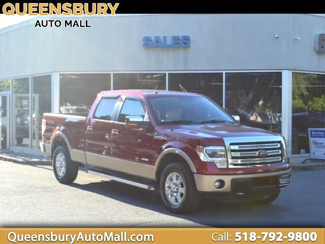 "2013 Ford F-150 4WD SuperCrew 150"" Lariat"