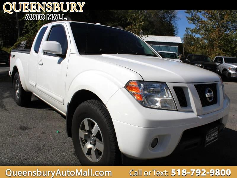 Nissan Frontier PRO-4X King Cab 4WD 2012