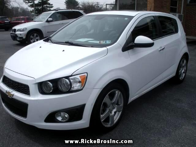 2013 Chevrolet Sonic LTZ Manual 5-Door